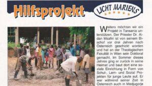Bericht der Gebetsaktion Medjugorje im Heft 71