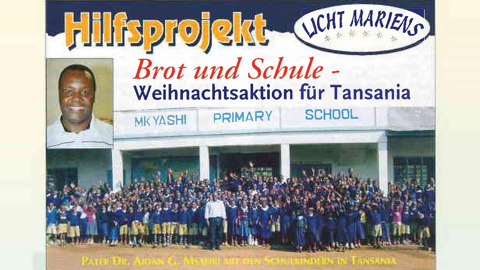 Hilfsprojekt Licht Mariens 2008 / 2